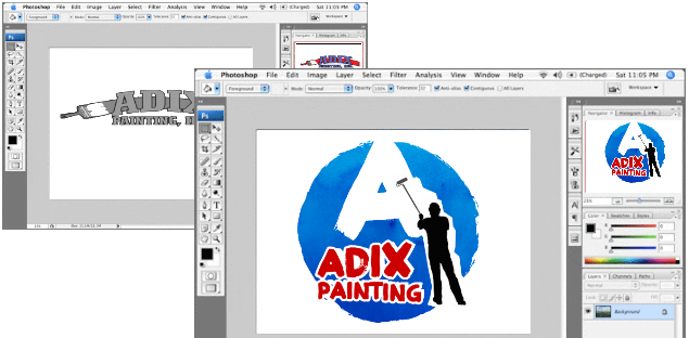 Painting Logo Design for Phoenix, Arizona Painter