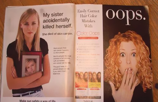 ad placement fail killed sister