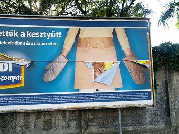 ad placement fail - good kitty